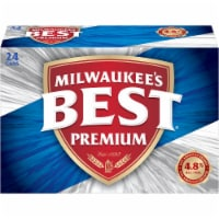 Milwaukee's Best Premium American Lager Beer 24 Cans