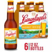 Leinenkugel's Honey Weiss Lager Beer 6 Bottles