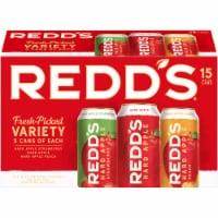 Redd's Fresh Picked Variety Hard Apple Ale Beer 15 Count