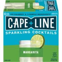 Cape Line Gluten Free Sparkling Margarita Cocktails 6 Count