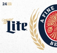 Miller Lite American Lager Beer 24 Cans
