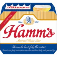 Hamm's America's Classic Premium Lager Beer 12 Cans