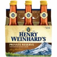 Henry Weinhard's Private Reserve Beer 6 Bottles