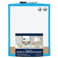 Quartet Magnetic Combination Board - Assorted
