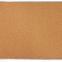 Quartet Bulletin Board,Cork,Aluminum Frame  85360 - 1