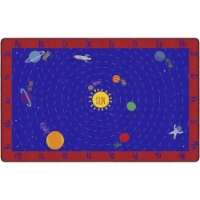 Flagship Carpets FX1521-44FS 7 ft. 6 in. x 12 in. Out of This World ABCs Carpet