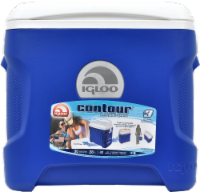Igloo® Contour™ Blue Cooler - 30 qt