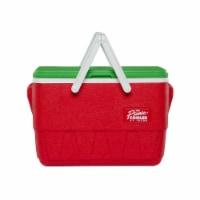 Igloo Special Edition 25 Quart Retro Holiday Picnic Basket Cooler, Multicolor