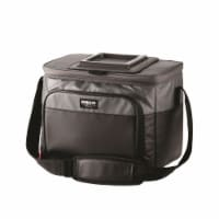 Igloo Seadrift Cooler Bag 24 can Black/Gray - Case Of: 1; - Count of: 1