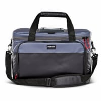 Igloo Coast Durable and Compact Insulated 36 Can Cooler Duffel Bag, Dark Blue - 1 Unit