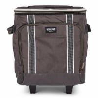 Igloo 40 Can Large Portable Insulated Soft Cooler with Rolling Wheels, Olive - 1 Unit