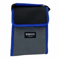 Igloo Lunch Sack - Blueberry - 1 ct