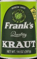 Frank's Quality Kraut
