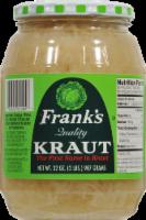 Frank's Quality Sauerkraut