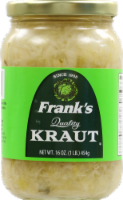 Frank's Quality Shreded Sauerkraut
