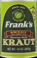 Frank's Sweet Bavarian-Style Kraut