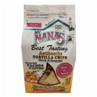 My Nana's Best Tasting Stone Ground Corn Thick & Crunchy Tortilla Chips - 12 oz