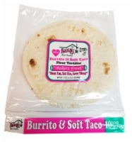 My Nana's Best Tasting Burrito & Soft Taco Flour Tortillas 10 Count