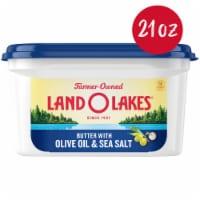 Land O' Lakes® Olive Oil & Sea Salt Spreadable Butter - 21 oz