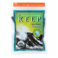 Maine Coast Organic Sea Vegetables-Kelp-Wild Atlantic Kombu-Whole Leaf-2 oz-Pack of 3 - Case of 3 - 2 OZ each