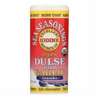 Maine Coast Organic Sea Seasonings - Dulse Granules with Garlic - 1.5 oz Shaker - Pack of 3 - Case of 3 - 1.5 OZ each