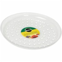 Miracle-Gro 12 In. Clear Plastic Flower Pot Saucer SMGCVSH12 - 12 In.