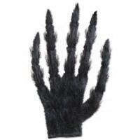 Beistle Halloween Party Decoration Hairy Glove - 12 Pack (1/Pkg) - 1 unit