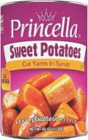 Princella Cut Sweet Potatoes in Syrup - 40 oz