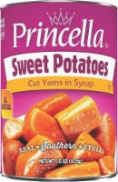 Princella Cut Sweet Potatoes in Light Syrup - 15 oz