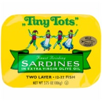 Tiny Tots Sardines in Extra Virgin Olive Oil