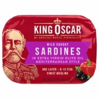King Oscar Wild Caught Mediterranean Style Sardines