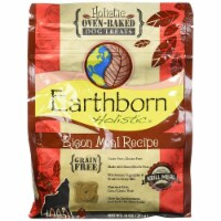 Earthborn 054896 Holistic Chicken Meal Recipe Holistic Oven-baked Dog Treats - Bison 8 Count