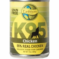 Earthborn Holistic 34846723403 K95 Chicken Grain Free 95 Percent Meat Protein Canned Dog Food