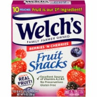 Welch's Berries 'n Cherries Fruit Snacks 10 Count