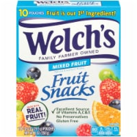 Welch's Mixed Fruit Fruit Snacks 10 Count
