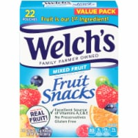 Welch's Mixed Fruit Fruit Snacks 22 Count