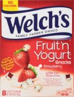 Welch's Strawberry Fruit 'n Yogurt Snacks 8 Count