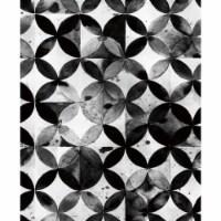 RoomMates RMK11353RL Paul Brent Moroccan Tile Peel & Stick Wallpaper, Black - 1