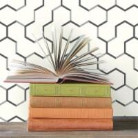 Roommates RMK9091WP Grey Open Geometric Peel & Stick Wallpaper - 1