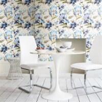 RoomMates RMK11301RL 20.5 in. x 16.5 ft. Blue Iris Peel & Stick Wallpaper - 1