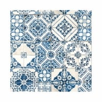 RoomMates Blue Mediterranian Tile Peel & Stick Wallpaper - 1 ct
