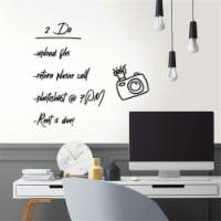 RoomMates RMK11676WP 28.18 sq ft. Dry Erase Peel & Stick Wallpaper - 20.5 in. x 16.5 ft. - 1
