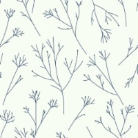 RoomMates RMK11680WP Navy Twigs Peel & Stick Wallpaper - 1