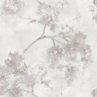 Roommates RMK11462RL Weeping Cherry Tree Blossom Peel & Stick Wallpaper, Beige - 1
