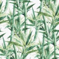 RoomMates RMK11369RL Lucky Bamboo Peel & Stick Wallpaper, Green - 1