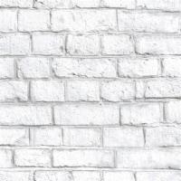 RoomMates White Brick Peel & Stick Wallpaper - 1 ct