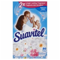 Suavitel Field Flowers Fabric Softener Dryer Sheets