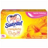 Suavitel Complete Morning Sun Fabric Softener Dryer Sheets - 70 ct