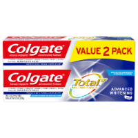 Colgate Total Advanced Whitening Toothpaste 2 Count