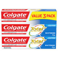 Colgate Total Whitening Gel Toothpaste 3 Count